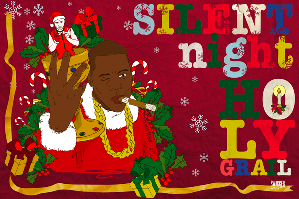 Haim, Drake, Lorde Make Appearances on Swagger New York's Illustrated Holiday Cards
