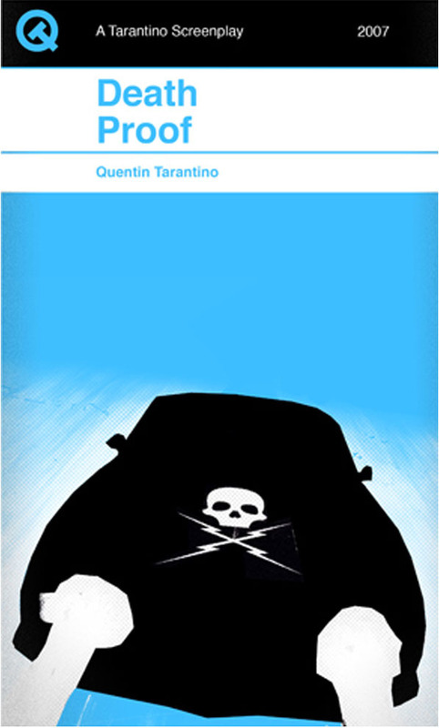 Tarantino Screenplays Re-Imagined in the Style of Penguin Books