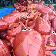 The B-52's rock lobster balloons