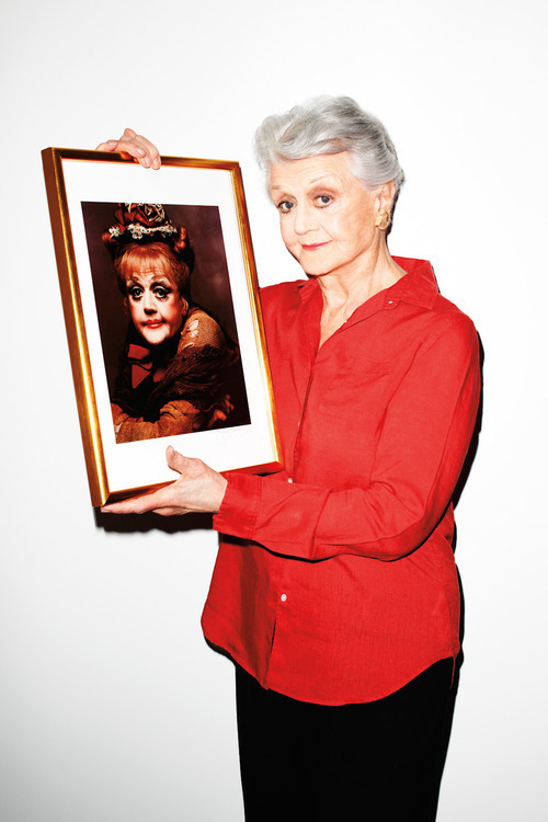 Angela Lansbury Photographed by Terry Richardson