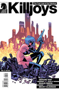 <i>The True Lives of The Fabulous Killjoys #3</i>, Gabriel Ba
