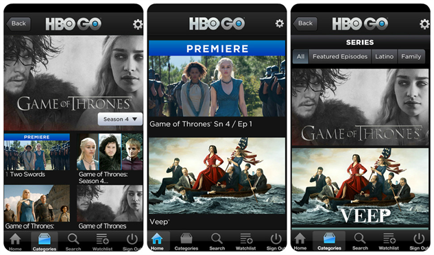 Galerry HBO Go App Shakes Up the Streaming TV Scene