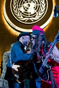 Marcus Miller & David Hinds of Steel Pulse