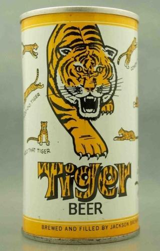 vintagebeer tiger