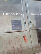 Padres press box