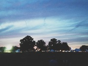 Sunset over Bonnaroo.