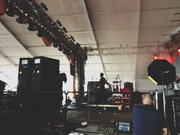 Another much-anticipated set caught side-stage… SBTRKT.