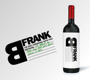 Promotional packaging for FRANK | Design: Talia Cohen