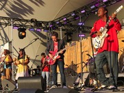 Danny Michel with the Garifuna Collective