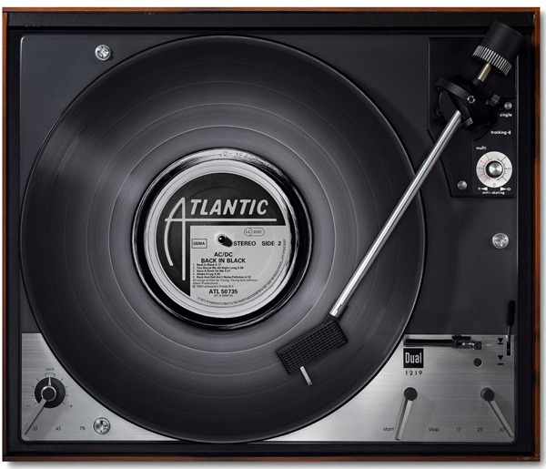 Photo Project Features Famous Records Depicted on Decade-Specific Turntables