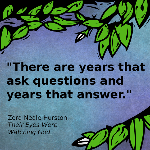 an analysis of their eyes were watching god by zora hurston Their eyes were watching god has 208,098 ratings and 9,584 reviews jesse (jessethereader) said: i have mixed feelings on this book on one hand i loved.