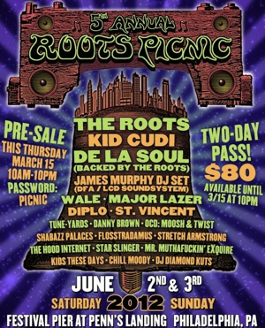 The Roots Announce 5th Annual Roots Picnic in Philadelphia