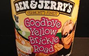 Elton John immortalized in ice cream by Ben & Jerry
