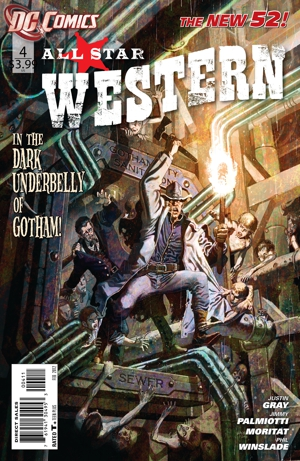 DC's &lt;i&gt;All-Star Western&lt;/i&gt; #4: Exclusive Comic Preview