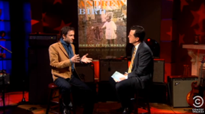 Watch Andrew Bird on <i>The Colbert Report</i>