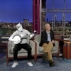 Watch Bill Murray's Hologram Play the Banjo on Letterman