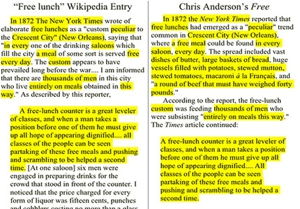 Did &lt;em&gt;Wired&lt;/em&gt; Editor Chris Anderson Plagiarize Wikipedia for His Upcoming Book?