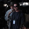 Terrence Malick and Christian Bale Seen Filming at ACL