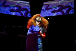 Björk Performs New Album Live