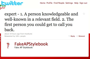 Fake AP Stylebook Twitter Account Lands Book Deal