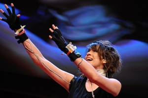 Imogen Heap Displays New Musical Gloves at TEDGlobal Conference