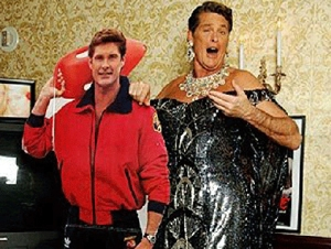 David Hasselhoff social networking site <em>finally</em> arrives