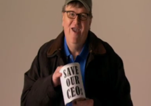Michael Moore Sends Volunteers into Movie Aisles During Interactive Trailer for New Documentary