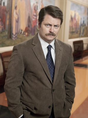 <em>Parks & Rec</em> Star Nick Offerman Grows A Beard For The Environment