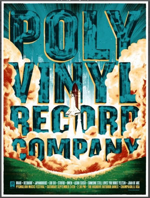 Polyvinyl Celebrates 15 Years with Concert, Sampler