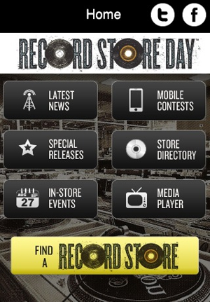 Record Store Day Unveils Free Mobile App