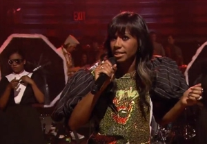 Watch Santigold Perform &quot;Disparate Youth&quot; on &lt;i&gt;Fallon&lt;/i&gt;