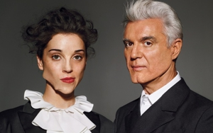 Listen to a New Track from St. Vincent and David Byrne