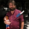 Watch Zach Galifianakis Talk About Weed and Take Off His Wig