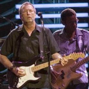 Eric Clapton's autobiography on shelves now
