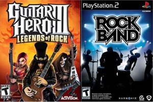 &lt;em&gt;Guitar Hero III&lt;/em&gt; and &lt;em&gt;Rock Band&lt;/em&gt; face off in marketplace