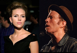 Scarlett Johansson and David Sitek talk Tom Waits album