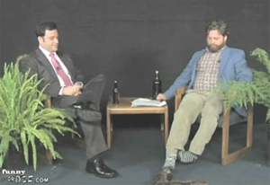 Zach Galifianakis and Kimmel chat on <em>Between Two Ferns</em>