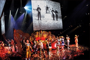 The Beatles and Cirque du Soleil hit DVD in late June