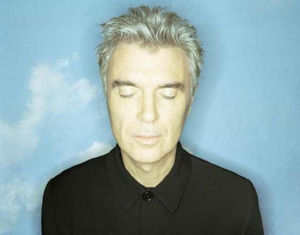 David Byrne plays NYC ferry terminal...literally