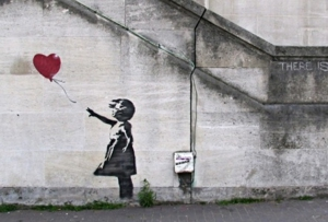 Removal of Banksy Mural Sparks Graffiti Ownership Debate