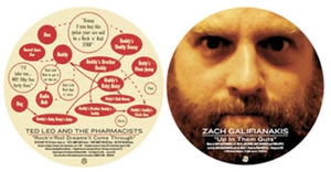 Zach Galifianakis, Ted Leo split 7-inch in time for <em>Chunklet</em> 20