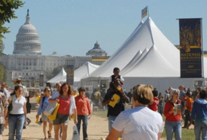 Laura Bush hosts her last National Book Festival