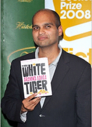 Aravind Adiga's <em>White Tiger</em> wins Booker Prize