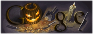 Wes Craven creates Google logo for Halloween