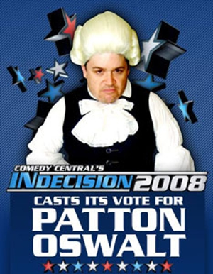 Patton Oswalt lusts for John McCain book, blogs election