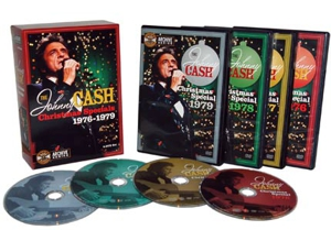 Johnny Cash Christmas DVD box set out now