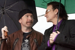 U2's Edge updates <em>No Line on the Horizon</em> details