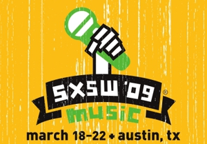 SXSW 2009 showcase line-up grows and grows