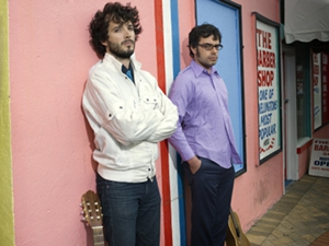 Gaffigan, Gondry, Wiig to fly with &lt;i&gt;Conchords&lt;/i&gt;