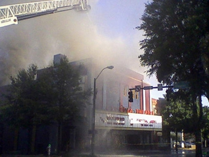 Georgia Theatre Catches Fire in Athens